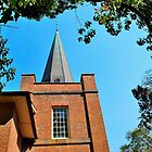 Church Spire by Sally Murray