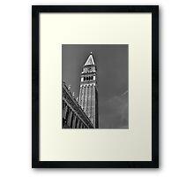Campanile di San Marco, Venice Framed Print