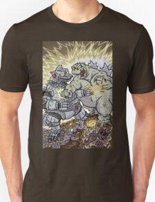 Big Godzilla Battle 2 T-Shirt
