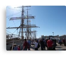 Festival of Tall Ships, Port Adelaide. S.A. Canvas Print