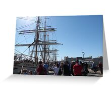 Festival of Tall Ships, Port Adelaide. S.A. Greeting Card