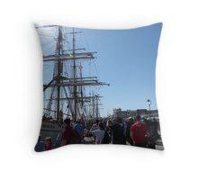 Festival of Tall Ships, Port Adelaide. S.A. Throw Pillow