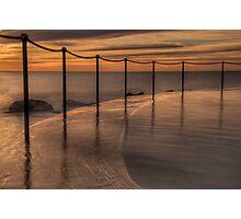Bronte Beach rock pool Photographic Print