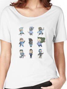 Blu Team!! Women's Relaxed Fit T-Shirt