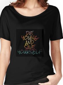 Brand New Lyrics Women's Relaxed Fit T-Shirt