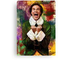 Elf - SANTA'S COMING! Canvas Print