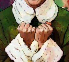 Elf - SANTA'S COMING! Sticker