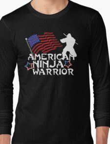 American Ninja Warrior T-Shirt Long Sleeve T-Shirt