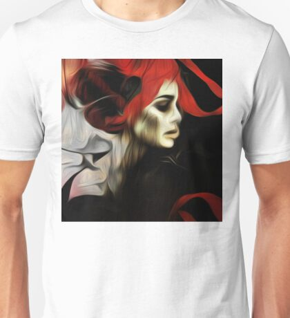 portrait of sadness Unisex T-Shirt