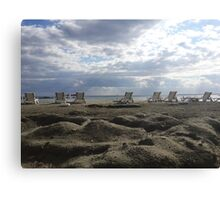 LIMASSOL BEACH Canvas Print