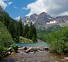 Maroon Bells 3 by Camila Bruce Photography