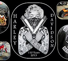 Happy Birthday Harley...110 years by Dawn M. Becker