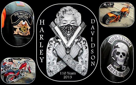 Happy Birthday Harley...110 years by Dawn M. Becker