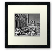 Piazzetta San Marco, Venice Framed Print