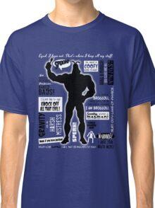 Big Blue Bug of Justice Classic T-Shirt