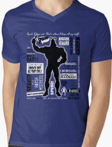 Big Blue Bug of Justice Mens V-Neck T-Shirt