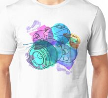 Watercolor camera Unisex T-Shirt