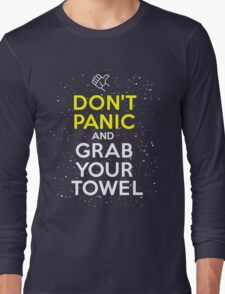 Don't Panic and Grab Your Towel T-Shirt