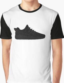 Yeezy Boost 350 Black Graphic T-Shirt