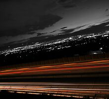 Freeway Long Exposure by Nathan  Morris