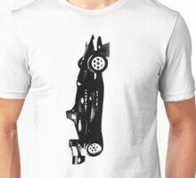 blacked formula 1 race car Unisex T-Shirt