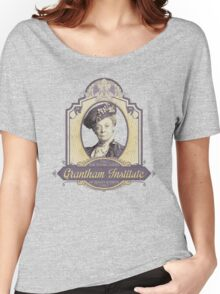 Downton Abbey Inspired - Lady Violet - Grantham Institute - Lady Violet Finishing School - Dowager's Etiquette Teachings Women's Relaxed Fit T-Shirt