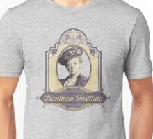 Downton Abbey Inspired - Lady Violet - Grantham Institute - Lady Violet Finishing School - Dowager's Etiquette Teachings Unisex T-Shirt