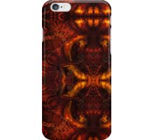 Melty Fire Abstract iPhone Case/Skin
