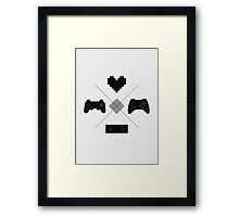 For the Love of the Games Framed Print