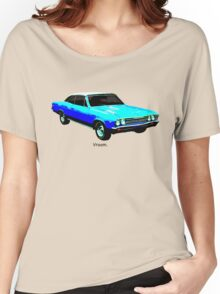 Muscle Car - Chevy Malibu Women's Relaxed Fit T-Shirt