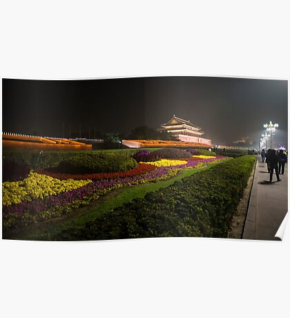 Beijing by night  Poster
