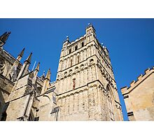 exeter cathedral Photographic Print