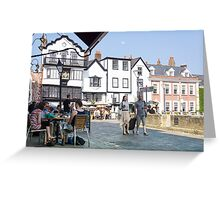 exeter square Greeting Card