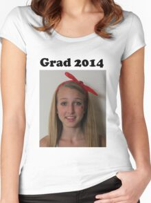 Grad 2014 Women's Fitted Scoop T-Shirt