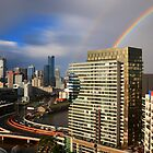 Double Rainbow, Melbourne by Cameron B