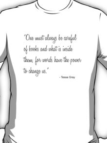 Tessa Books T-Shirt