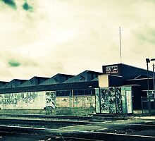 Train Tracks in Newcastle by brookenash