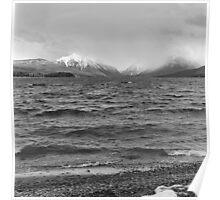 Lake McDonald in Spring Poster