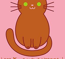 Inappropriate Loaves Silly Funny Cat Art by geekchicprints