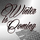 Winter is Coming Stark House Sigil by geekchicprints