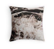 Frozen Motion - Waves on the Sunshine Coast Throw Pillow