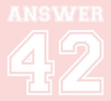 42 - Answer One Piece - Long Sleeve