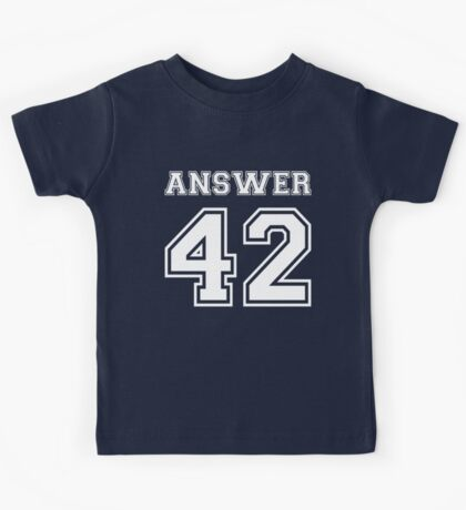 42 - Answer Kids Tee