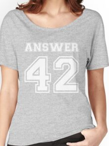 42 - Answer Women's Relaxed Fit T-Shirt