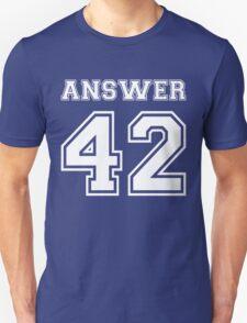42 - Answer Unisex T-Shirt