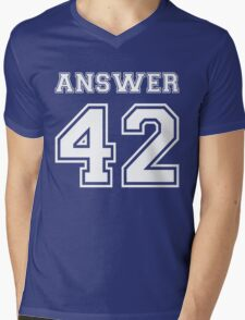 42 - Answer Mens V-Neck T-Shirt