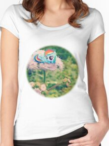 Filly Dashie Women's Fitted Scoop T-Shirt