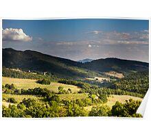 Arezzo, Tuscany (near Castelnuovo) #001 Poster