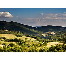 Arezzo, Tuscany (near Castelnuovo) #001 Photographic Print