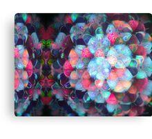 Pixel Atom Canvas Print